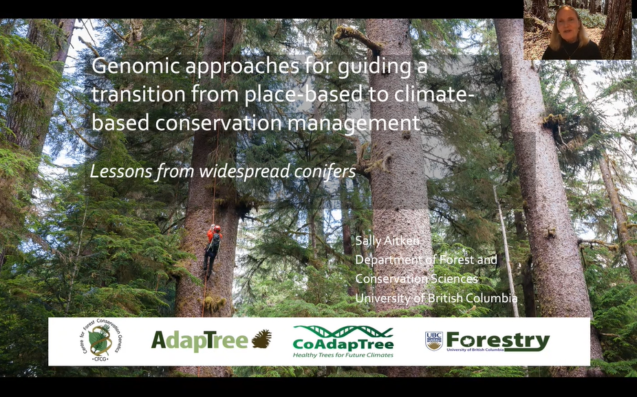 Genomic approaches for guiding a transition from place-based to climate-based conservation management